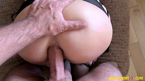 Anal doggy style penetration with naughty women tied up and bdsm action
