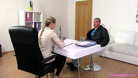 Overwhelming Barra Kristine casting a male model for sex work