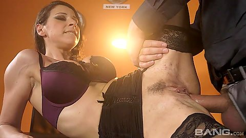 Office desk intercourse with working business bitch Martina Gold