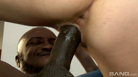 First black penis cowgirl sex with desperate for love Annika Amour