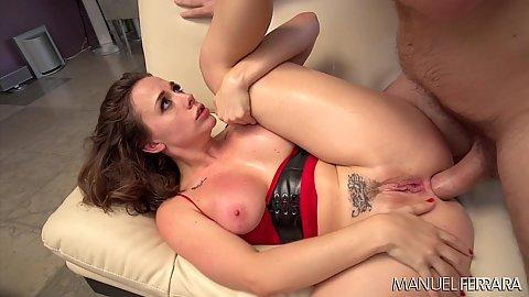 Anal pounding with sweaty girl Chanel Preston