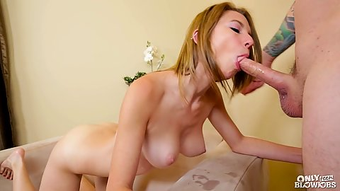 My girlfriend sister college Cece Capella does mean blowjobs