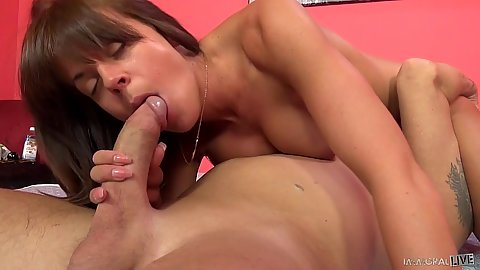 Super duper butt blowjob with Rahyndee James