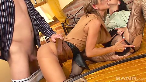 Doggy style almost fully clothed euro glam fuck Emma Butt