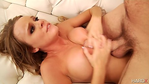 Beautiful titty fuck with Alexis Adams