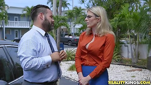 Milf hunter pick up and fuck with Kacey Jordan and Cory Chase