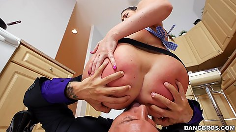 Ass worshiping and sitting on face with Brittany Shae