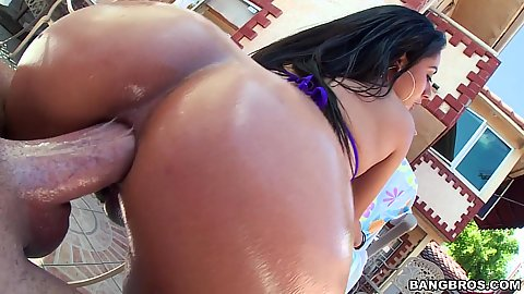 Anal sex ripping a new one with pounded Jynx Maze