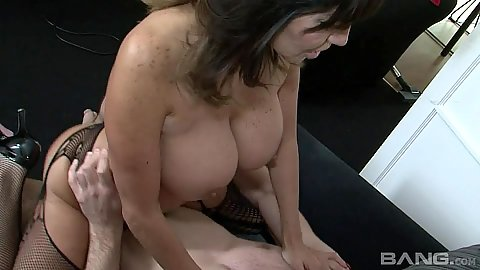 Mature big juggs whore Tara Holiday great on dick