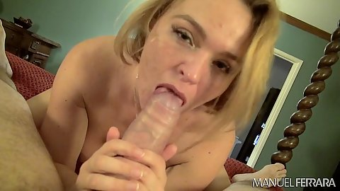 Immoral blonde Krissy Lynn in pov blowjob and reverse cowgirl caginal sex