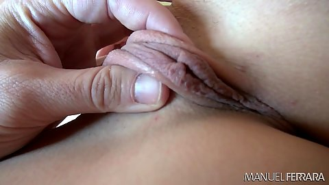 Pussy touching close up with amazing slim body whore Nikita Bellucci