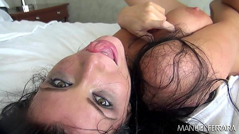 masturbation and titty fuck with temping big chest babe Romi Rain