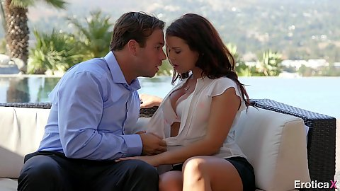 Erotic undressing and sensual touching with Keisha Grey desring dick