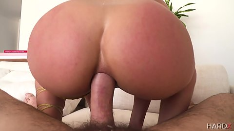 Ass nailing in pov with passionate fucker Abella Danger
