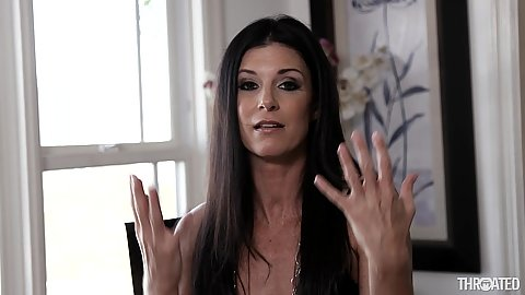 Super hot milf India Summer tries to count on her fingers