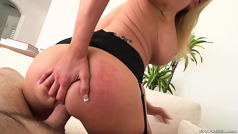 Mischievous milf pov reverse cowgirl sex Briana Banks and fingering her own ass