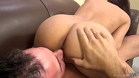 69 nd pussy eating with mischievous asian Amber Q