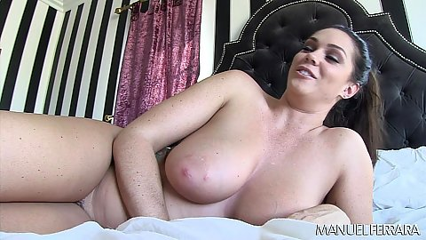 Very large and very natural boobies Alison Tyler