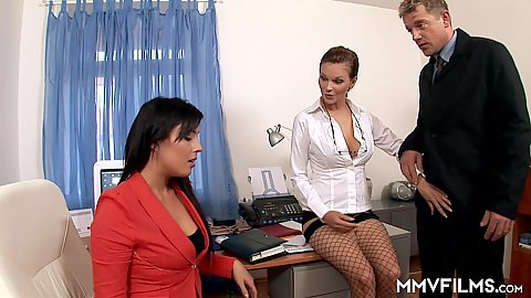 Tarra White and Stracy Stone secretary slut in training