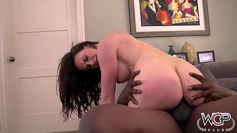 Interracial cowgirl fuck with naughty Chanel Preston