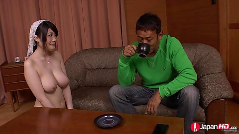 Busty naive asian with lovely boobs gets touched