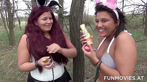 Latina easter sluts and their chocolate bunnies