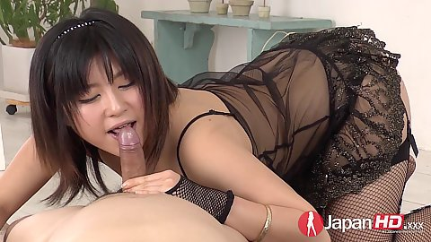 Asian in lingerie pov sucking Kyoka Mizuzawa