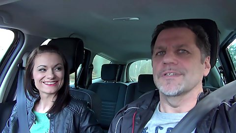 Driving petite Cassie Young being the sugar daddy that I am