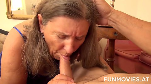 Cock blowing amateur mature Zolitaire in uncle and auntie