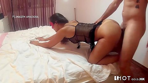 Irresistible latina in lingerie sex Sasha Tuga