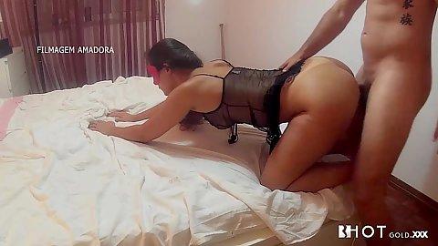 Irresistible latina in lingerie sex Sasha Tuga