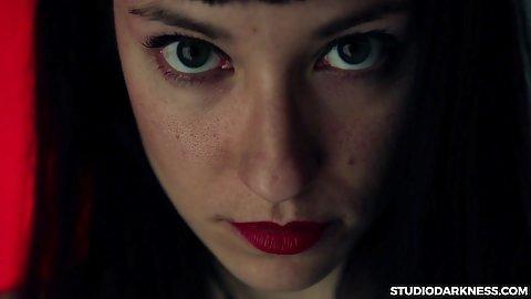 Anny Mishet has a piercing gaze