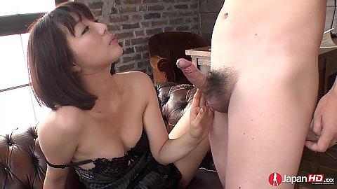 Cock sucking with intimate little asian Izumi Manaka
