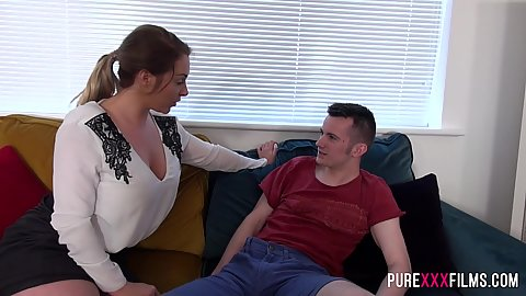 Stepbrother getting lucky with Victoria Summers