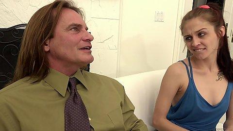 Girl and milf Kandi Quinn share mans cock