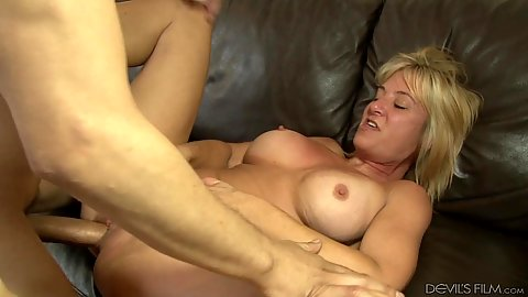 Busty milf mom Sky Haven fucks daughters husband
