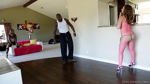 Lingerie posing sluts Jodi Taylor and Maddy O