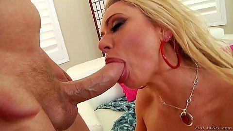 Savage milf sucking some shaft Briana Banks