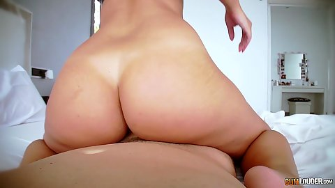 Bubble booty pov riding Amirah Adara
