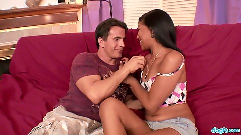 Emy Reyes getting touched and teased by guy