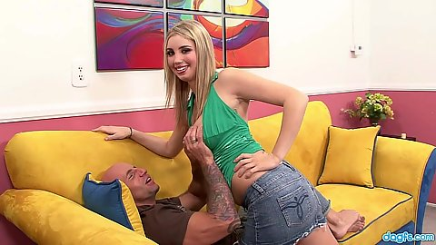 Nice and happy blonde Oklahoma will do anything