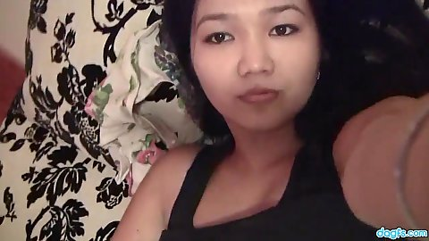 Asian Rita doing a charming webcam show solo