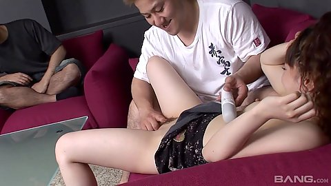 Cuckold asian fingering and gf sharing with asian couple