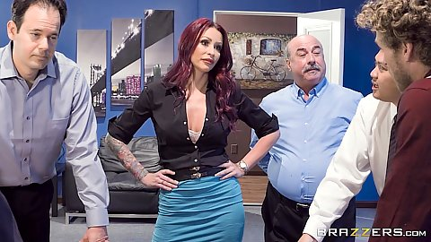 Office sexcercise with Monique Alexander