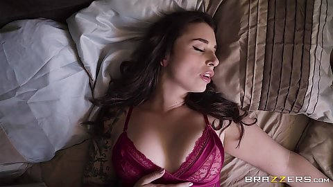 Very self aroused Ivy Lebelle gets naughty in bed