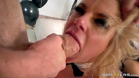 Big cock oral and anal plowing with 3 on 3 new years party Kristina Rose and Chanel Preston