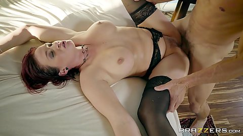 Frontal trimmed vagina stockings milf Tory Lane trying reverse psychology