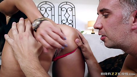 Eager milf Ava Addams gets ass examined
