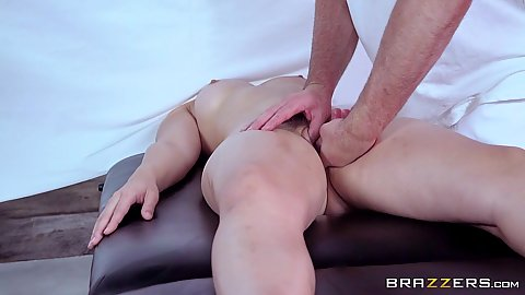 Fingering during private massage Dani Daniels and Nikki Benz