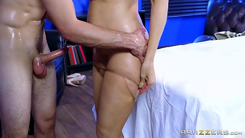 Patient enjoys nailing his milf blond therapist from behind Julia Ann